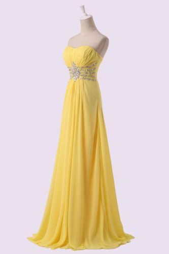 da5d6a60e15 žluté společenské šaty dlouhé šifonové antické - plesové šaty ...
